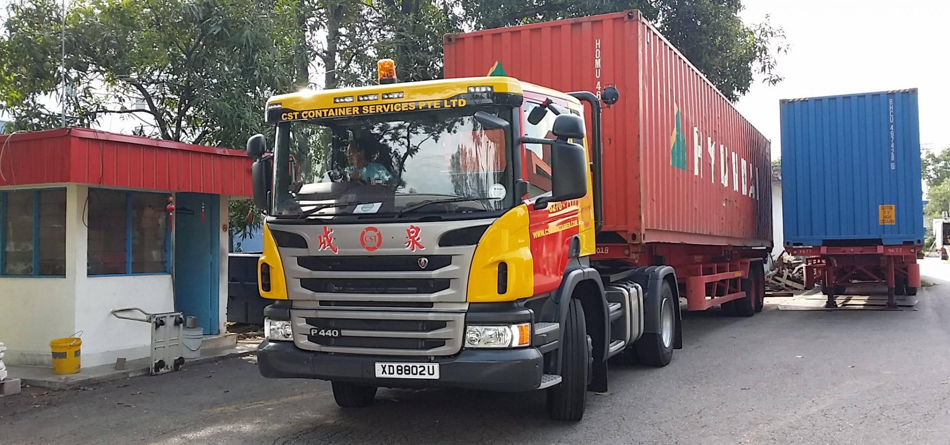 Container, Trucking, Logistics, Transportation, Port Clearance, Shipping, 3PL