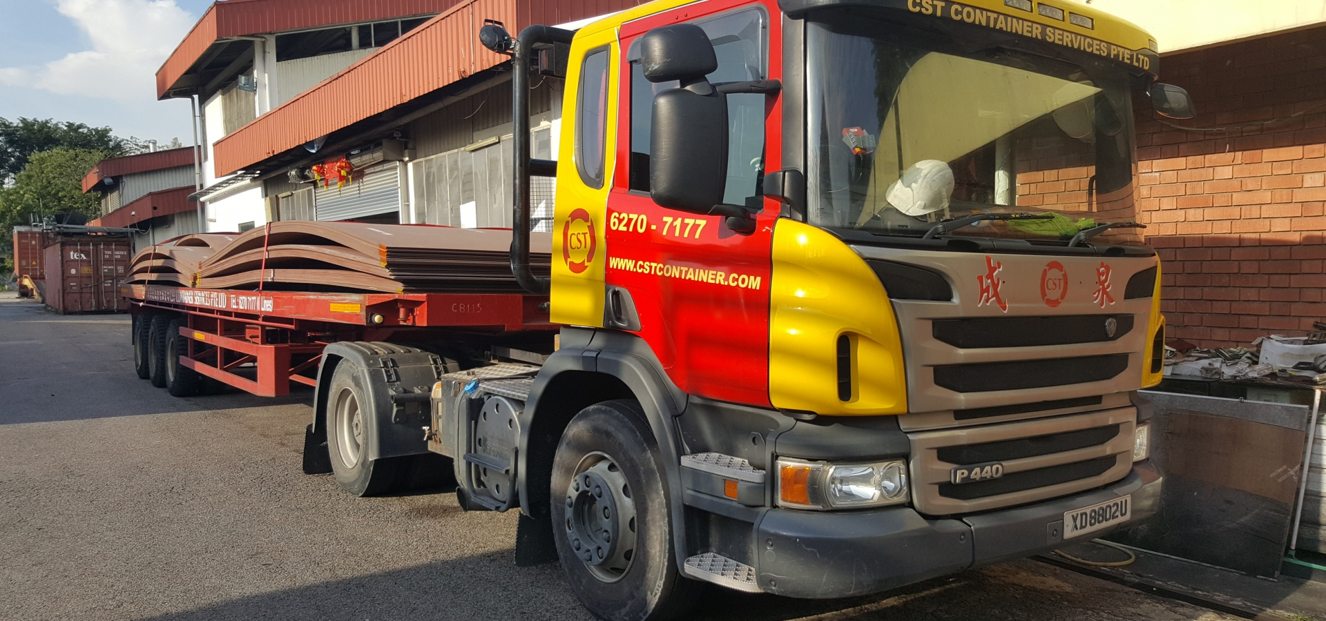 Container, Trucking, heavy duty, Machineries, Logistics, 3PL