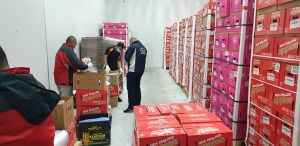 Chilled Cold Storage Warehousing Packing Fruits